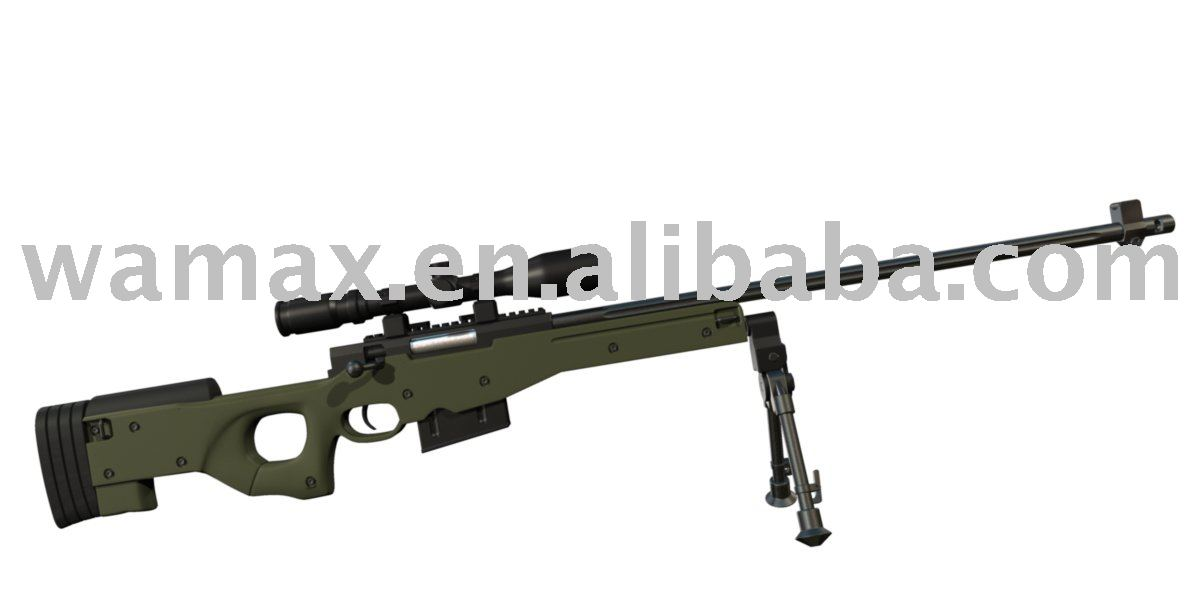 Pop game imitation plastic sniper rifle model toy gun