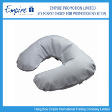 Popular Fashionable Inflatable Flocking Travel Pillow