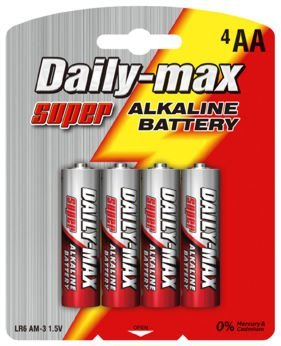 aa LR6 am3 alkaline battery