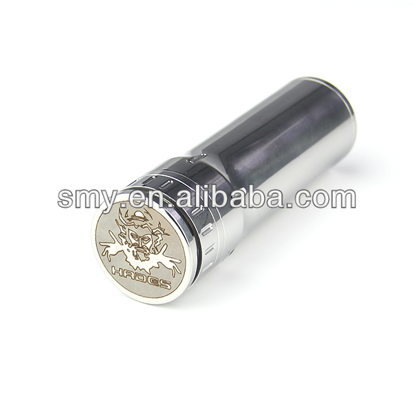 Sex product for man hades mech mod big battery 26650 with biggest vapor can be used with DIY atomizer 3D, taifun, kraken
