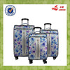 China Factory PU Leather Decent Travel Luggage With 360 Degree Wheels