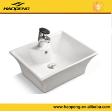 Bathroom wash hand basin , above counter mounting , ceramic sanitary ware