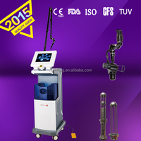 textural irregularities treatment Co2 fractional machine RF tube skin laser head co2