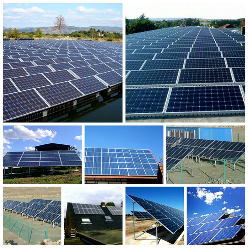 HYE adjustable roof mount solar panel system 1500W solar grid-tied system