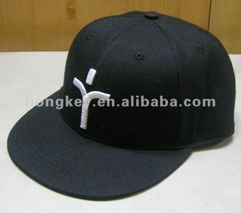 customize flat bill snapback hat