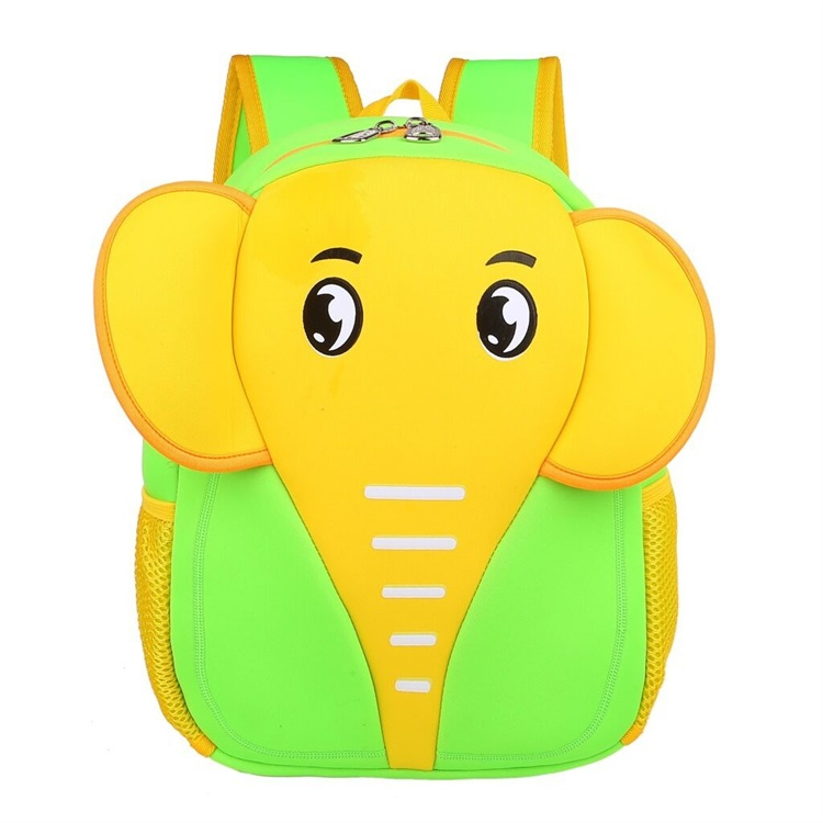 Hot Sale 3D Cute Cartoon Animal Schoolbag Waterproof Kids Neoprene Backpack