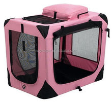 Hot selling and high quality Dog Soft Crate Fabric Front Pet Carrier large