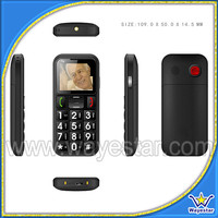 GSM Quad Band Big Letters Senior Cell Phone for Old Man Use