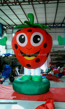 Advertising promotion inflatable strawberry inflatable fruit