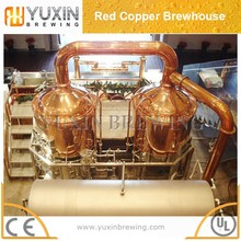 red copper tank beer brewing used brewery equipment for sale