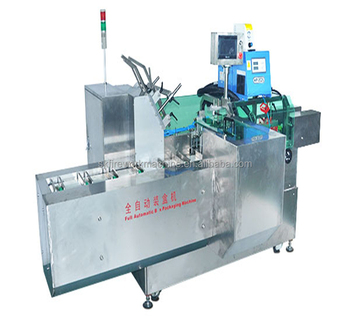 Fully Automatic corrugated Carton box Packing Machine for Toothpaste