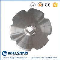 Agricultural high tensile roller chain sprocket