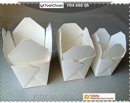 Chinese factory Snack Packaging Chicken ,fast food Paper Tray