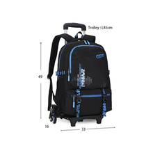School Backpack School Bags for Kids Student School Bag Trolley Backpack