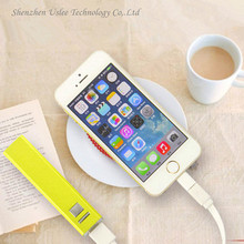 Plastic mobile phone charger plate with 100% real Capacity, 18000 mah power bank