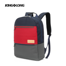 "Soft twill material 15.6"" lightweight laptop backpack sold well in Alibaba"