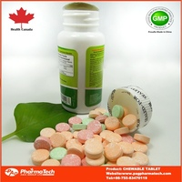Private label OEM prevent scurvy VC chewable vitamin c tablet