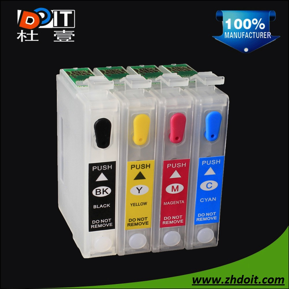 Refillable ink cartridge for Epson T13 series for Epson SX525WD