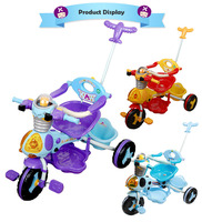 2 In 1 Stroller Good Price Wholesale Softtextile Baby Tricycle