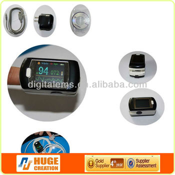 2014 hot Selling Pulse Oximeter with USB rechargable and data storage (Model no.:AH-50E)