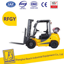 High efficiency most popular 2ton lpg nissan forklift truck