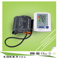 COCET Promotional Price of Medical and Home Use Blood Test Kit, Ditigal Arm Blood Pressure Monitor with 99 Store Groups Memory