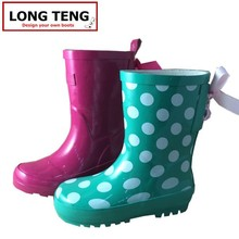 Custom Made Cheap Rain Boots for Children Western Rubber Rain Boots