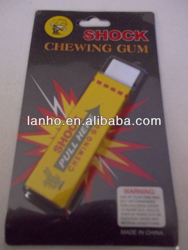 Shock Chewing Gum For Joke Gag Prank Trick Party Toy