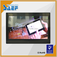 Support AVI 13 inch display lcd vertical advertising monitor