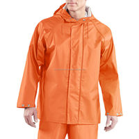 very light weight Durable High quality PVC Rain jacket, coats and Suits in all custom colors and sizes