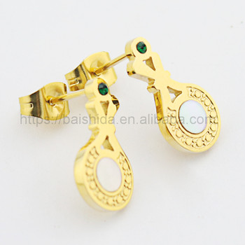 earrings design saudi gold jewelry wholesale jewelry manufacturer
