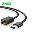 USB 3.0 A to A Cable Type A Male to Male Cable Cord for Data Transfer Hard Drive Enclosures, Printers, Modems, Cameras (3FT)