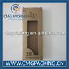 10PCS Kraft Paper Tealight Candle Box