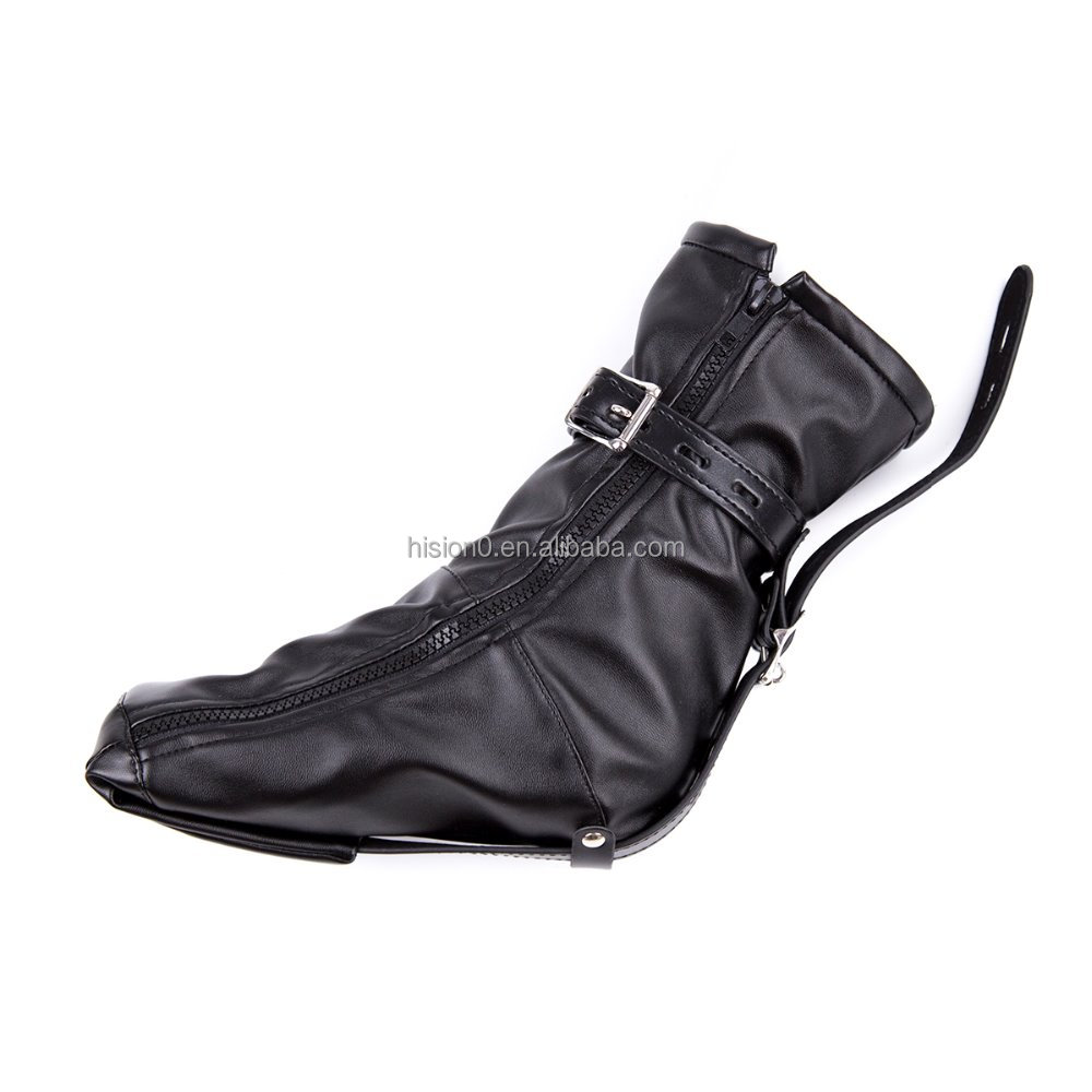 NEW ARRIVAL Leather Feet Bondage Boot High Quality Long Boot Restraint Bondage Foot Lingerie