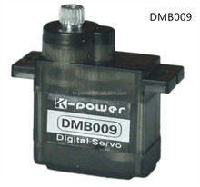 DMB009 micro digital metal gear servo/9g servo metal digital/micro servo for rc hobby