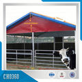 Prefab Steel Structure Cattle Farm Building For European Market