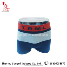 OEM service nylon spandex fabric seamless used mens boxer underwear for teenage boys in china