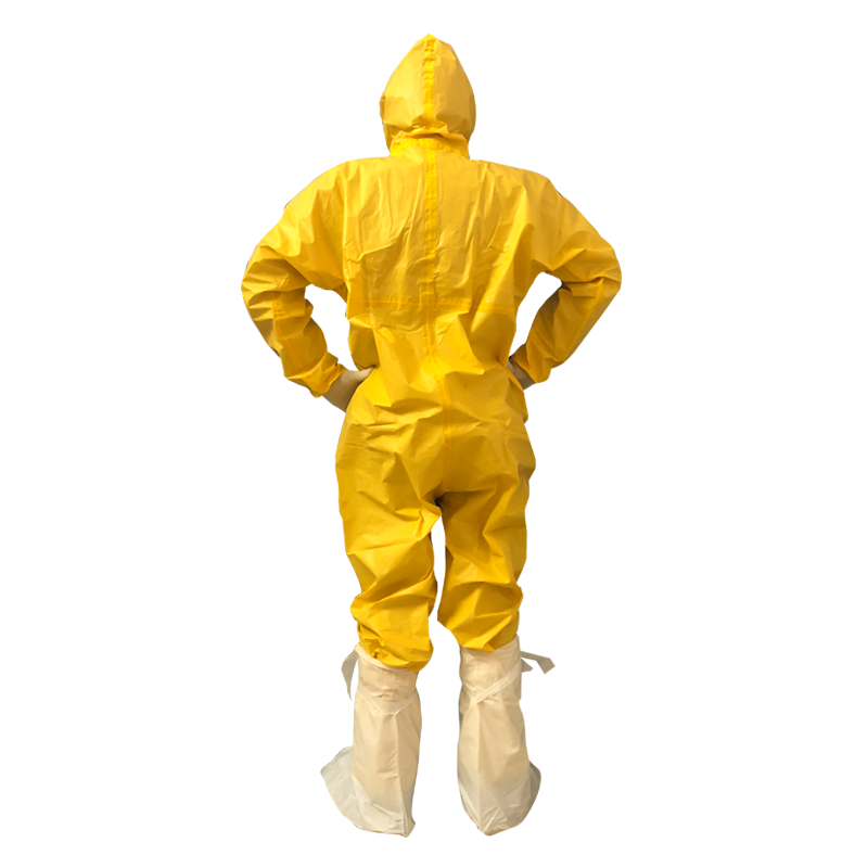 Coveralls with taped seams for superior protection and strength