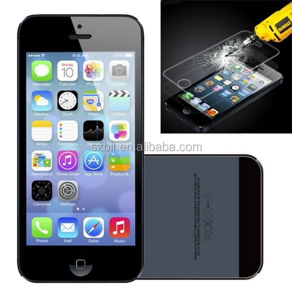 New arrival high clear screen protector for lcd iphone 5 mobile phone screen guard