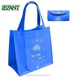 Hot sale Bezant Eco-friendly carry non woven bag for supermarket,shopping,gift with customized logo