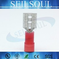 Free sample Insulated Cord Electric Wire End Connector Terminals Nylon Cable Gland Shroud Terminal