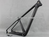 29er carbon mtb bike frame thru axle 142*12mm size 16 BB92 for sale