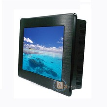 15 inch IP65 front bezel 12V panel mount IR Touchscreen LCD monitor