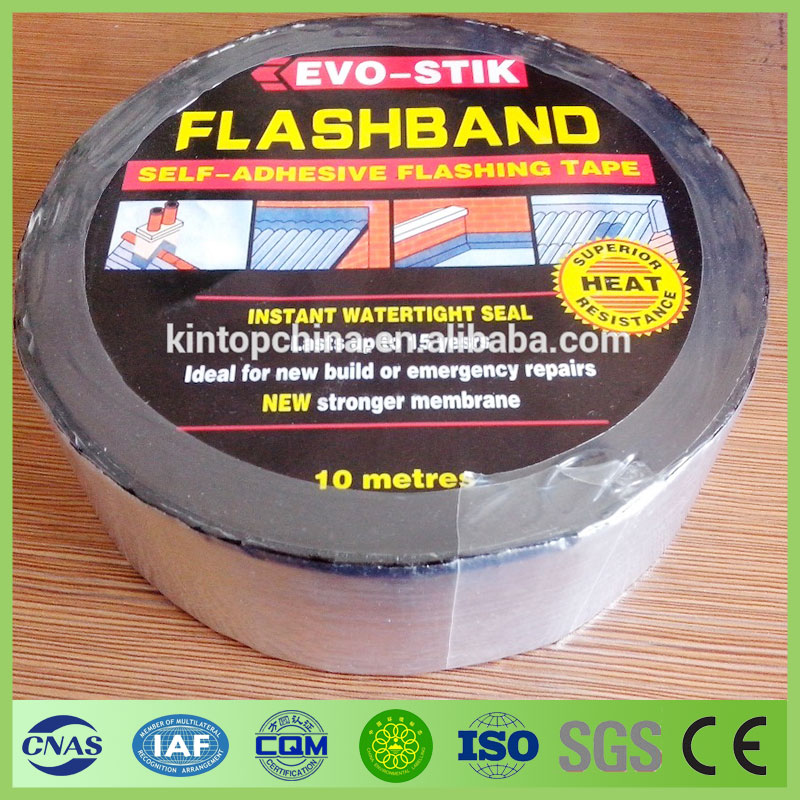 waterproof asphalt self adhesive bitumen flashing tape