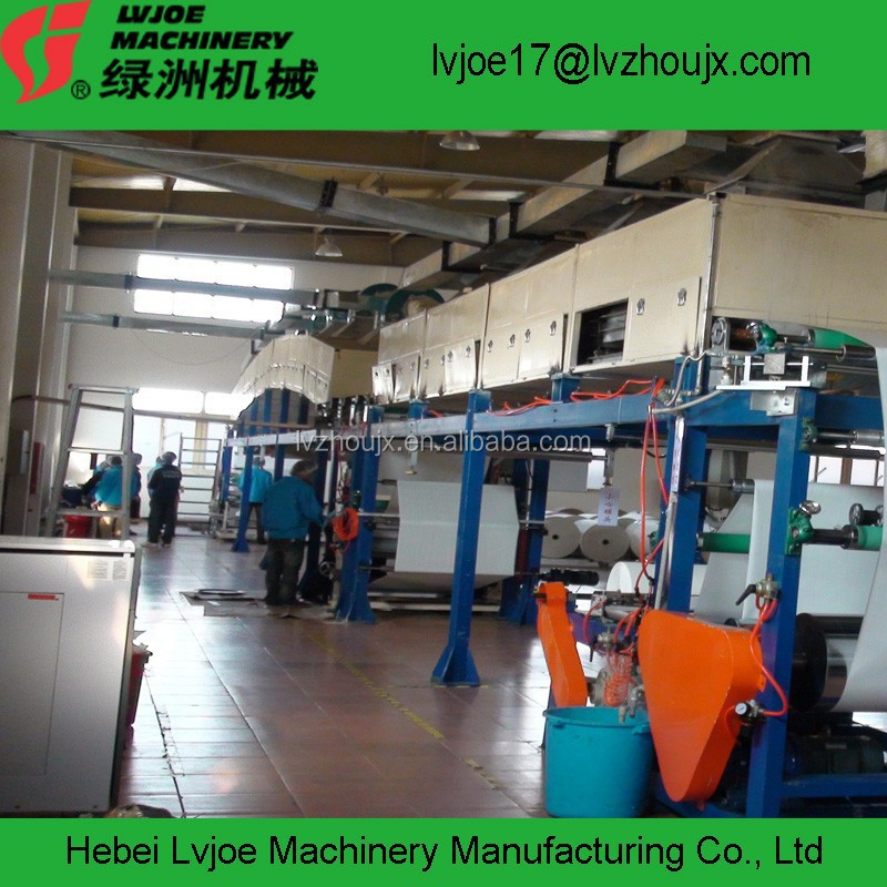 PAPER SILICONE COATING MACHINE