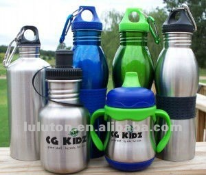 2015 new style wide mouth stainless steel drinking bottles with cap, sports bottle,water cup, travel bottle,car bottle