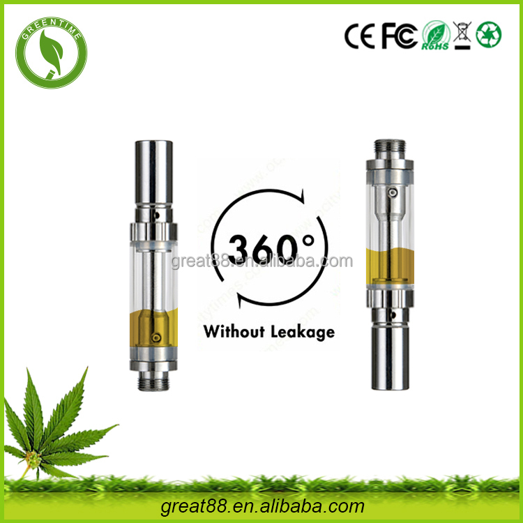 2016 best selling unique Organic cotton electronics disposable cbd oil glass cartridge