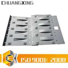 spot welded mounting bracket of specialized custom metal sheet metal plate parts fabrication services in Foshan near Guangzhou
