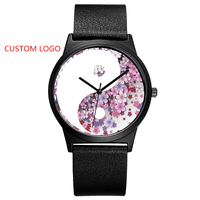 Custom Your Own Logo Watches Special Personalized Chinese Style Handmade Watches OEM Watch Dial Embossed
