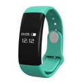 2017 CE Rohs approval Big Screen 10-15days standby smart band remote taking photos fitness tracker